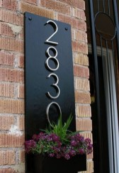 Cool Diy House Number Projects Design Ideas That Looks More Elegant 01
