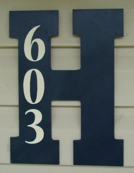 Cool Diy House Number Projects Design Ideas That Looks More Elegant 02
