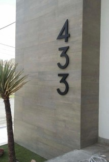 Cool Diy House Number Projects Design Ideas That Looks More Elegant 37