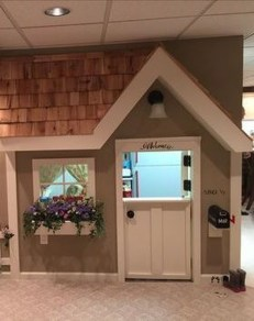 Cute Indoor Playhouses Design Ideas That Suitable For Kids 14