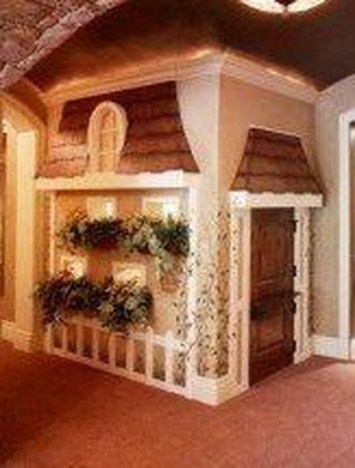 Cute Indoor Playhouses Design Ideas That Suitable For Kids 34
