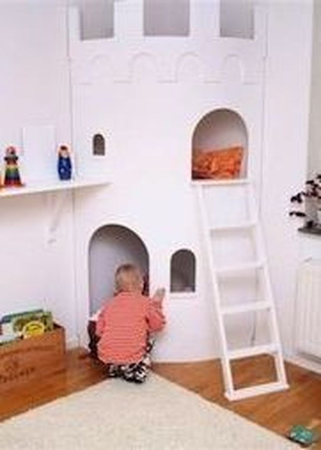 Cute Indoor Playhouses Design Ideas That Suitable For Kids 38