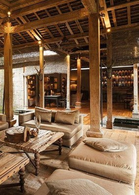 Extraordinary Joglo House Design Ideas With Rustic Elements To Copy 06