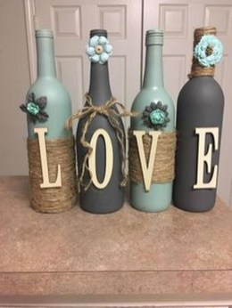 Fascinating Diy Wine Bottle Design Ideas That You Will Like It 22