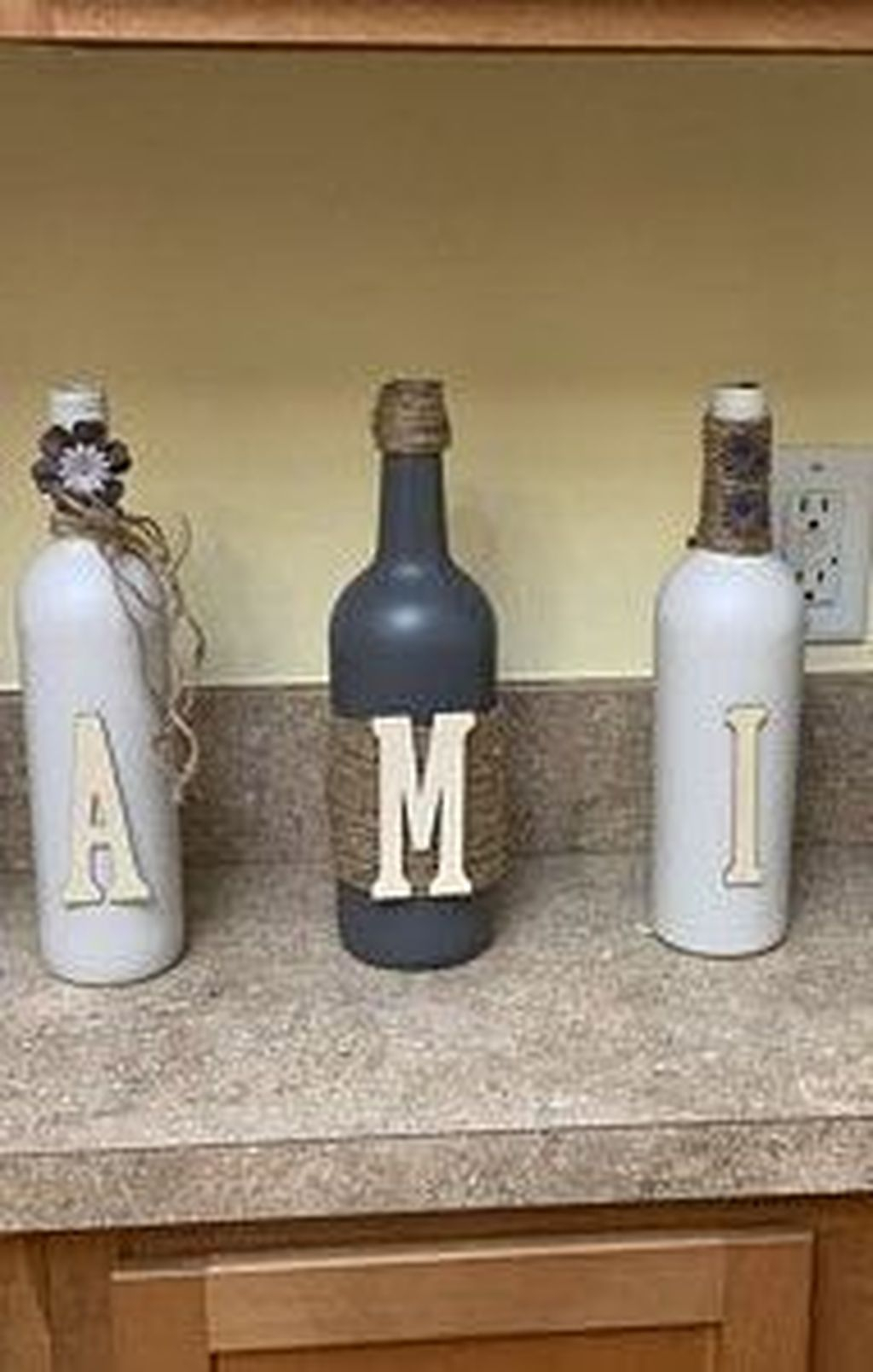 Fascinating Diy Wine Bottle Design Ideas That You Will Like It 34