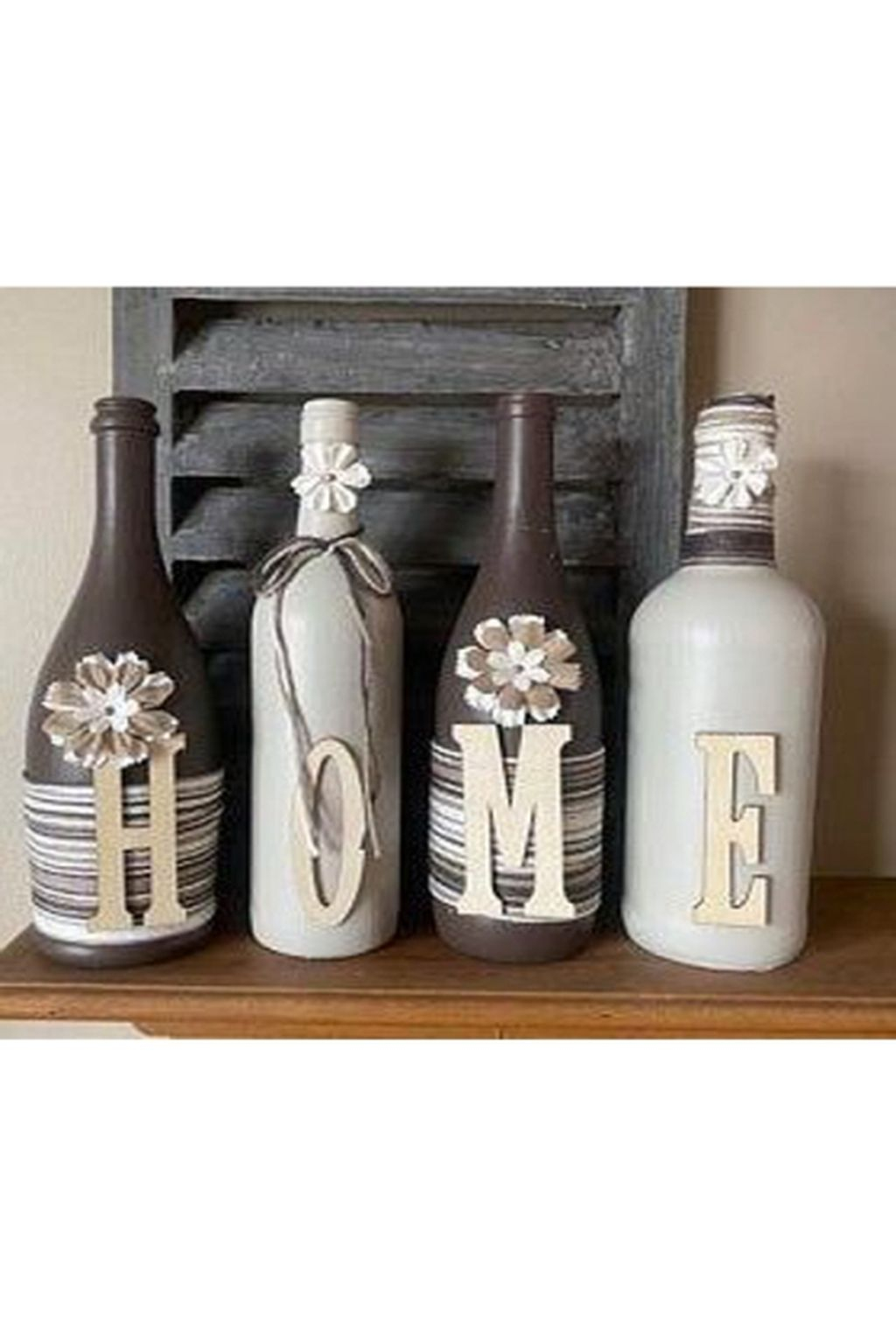 Fascinating Diy Wine Bottle Design Ideas That You Will Like It 41