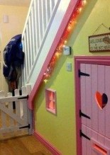 Favorite Kids Playhouses Design Ideas Under The Stairs To Have 04