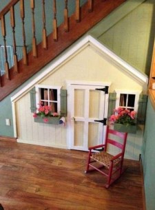 Favorite Kids Playhouses Design Ideas Under The Stairs To Have 20