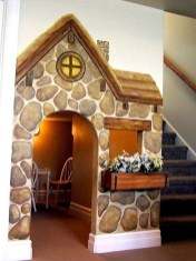 Favorite Kids Playhouses Design Ideas Under The Stairs To Have 42