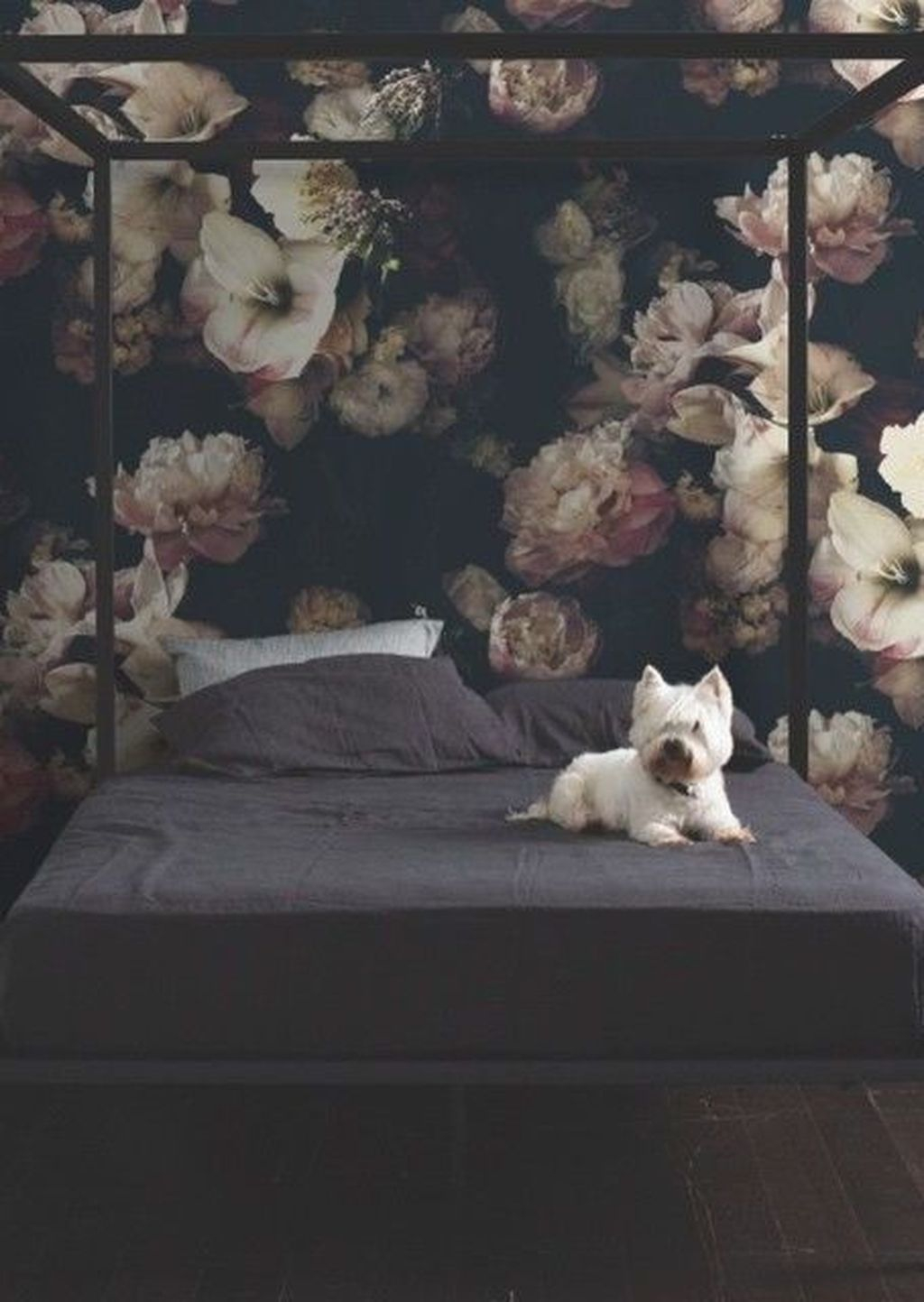 Lovely Winter Bedroom Design Ideas With Flower Themes To Try Asap 29