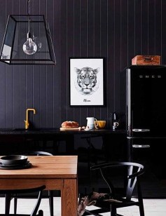 Modern Black Kitchens Design Ideas For Bachelors Pad To Try Asap 04