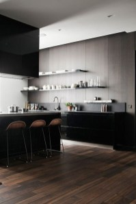 Modern Black Kitchens Design Ideas For Bachelors Pad To Try Asap 06