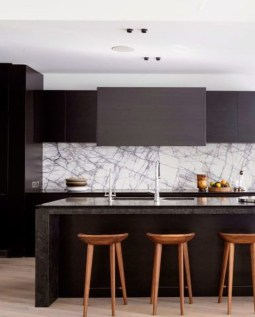 Modern Black Kitchens Design Ideas For Bachelors Pad To Try Asap 13
