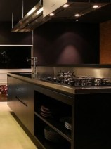 Modern Black Kitchens Design Ideas For Bachelors Pad To Try Asap 27