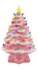 Sophisticated Pink Winter Tree Design Ideas That Looks So Cute 30