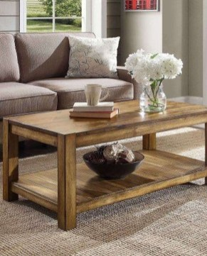 Adorable Wooden Furniture Design Ideas For Rustic Living Room To Have 24