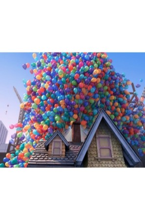 Amazing Pixar Up House Design Ideas Created In Real Life And Flown 12