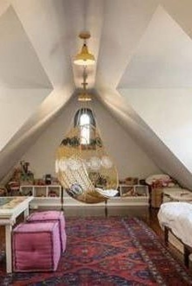 Beautiful Attic Room Design Ideas To Try Asap 39