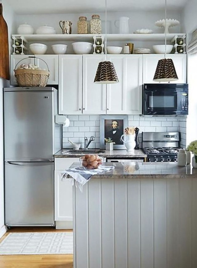Best Tiny Kitchen Design Ideas For Your Small Space Inspiration 19