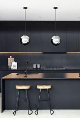Extraordinary Black Backsplash Kitchen Design Ideas That You Should Try 01