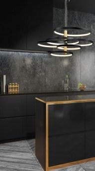 Extraordinary Black Backsplash Kitchen Design Ideas That You Should Try 03