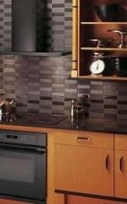 Extraordinary Black Backsplash Kitchen Design Ideas That You Should Try 14