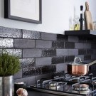 Extraordinary Black Backsplash Kitchen Design Ideas That You Should Try 37