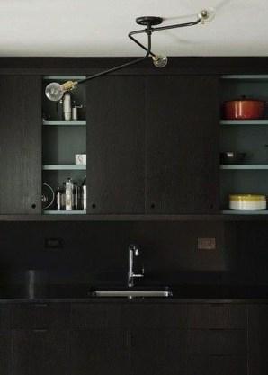 Extraordinary Black Backsplash Kitchen Design Ideas That You Should Try 39