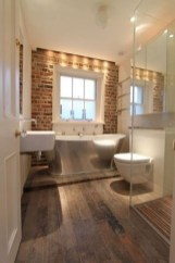 Fabulous Bathroom With Wall Brick Decoration Ideas To Try Asap 17