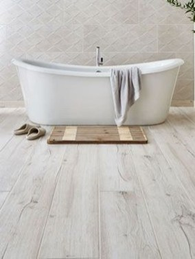 Fancy Wood Bathroom Floor Design Ideas That Will Enhance The Beautiful 06