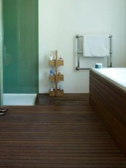 Fancy Wood Bathroom Floor Design Ideas That Will Enhance The Beautiful 12