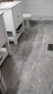 Fancy Wood Bathroom Floor Design Ideas That Will Enhance The Beautiful 22