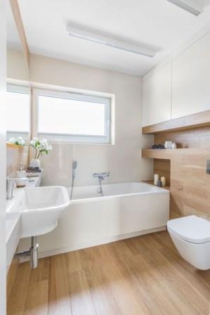 Fancy Wood Bathroom Floor Design Ideas That Will Enhance The Beautiful 25