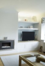 Interesting Living Rooms Design Ideas With Shelving Storage Units 02