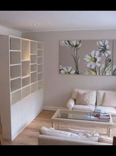 Interesting Living Rooms Design Ideas With Shelving Storage Units 04