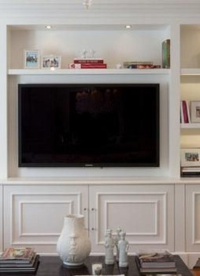 Interesting Living Rooms Design Ideas With Shelving Storage Units 09