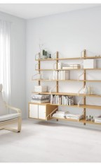 Interesting Living Rooms Design Ideas With Shelving Storage Units 14