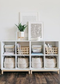 Interesting Living Rooms Design Ideas With Shelving Storage Units 19