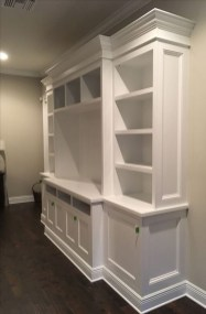 Interesting Living Rooms Design Ideas With Shelving Storage Units 20