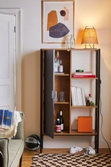 Interesting Living Rooms Design Ideas With Shelving Storage Units 21
