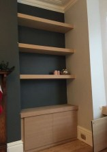 Interesting Living Rooms Design Ideas With Shelving Storage Units 22