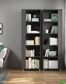 Interesting Living Rooms Design Ideas With Shelving Storage Units 42