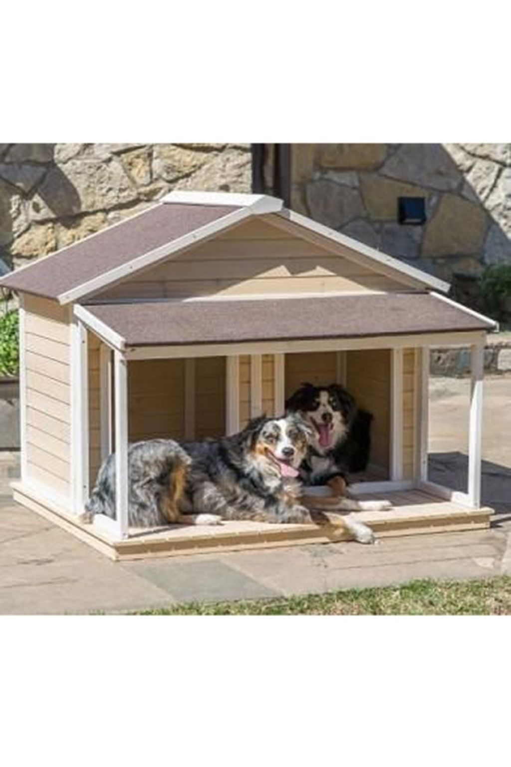 Interesting Outdoor Dog Houses Design Ideas For Pet Lovers 27