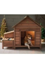 Interesting Outdoor Dog Houses Design Ideas For Pet Lovers 37