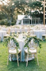 Magnificient Outdoor Wedding Chairs Ideas That Suitable For Couple 21