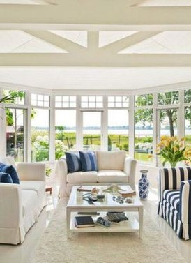 Perfect White Sunroom Design Ideas That Look So Awesome 08