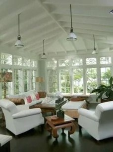 Perfect White Sunroom Design Ideas That Look So Awesome 32
