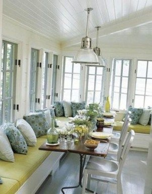 Perfect White Sunroom Design Ideas That Look So Awesome 35