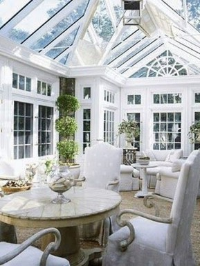 Perfect White Sunroom Design Ideas That Look So Awesome 36