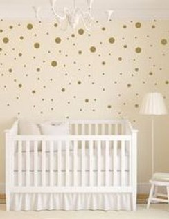 Relaxing Baby Nursery Design Ideas With Polka Dot Themes To Try Asap 11